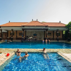 The Deluxe Pool at the Swastika Bungalows