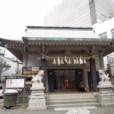 拝殿の外観