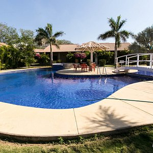 The Building Four Pool at the Villaggio Flor de Pacifico