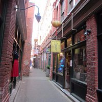 Shopping in the Alley
