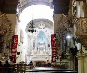visual da igreja