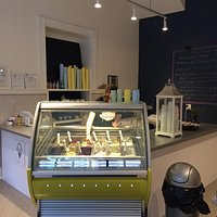 Great little find for dessert! Cute little store with 12 flavored of gelato.