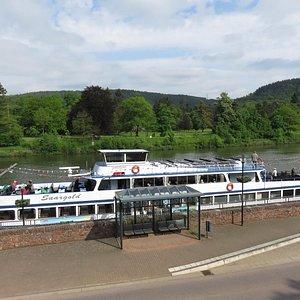 Schifffahrt von Mettlach nach Saarburg