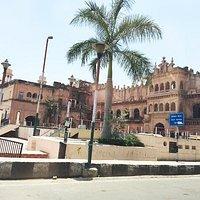Front of Shaukat Mahal