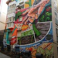 Mural cantón de las carnicerías