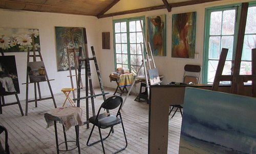 Art in one of the rooms #1