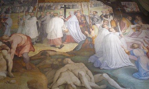 La processione al tempo della peste di San Carlo (1576-1577)