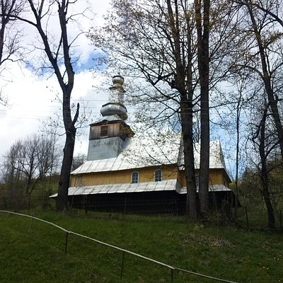 Подобовец, деревянная церковь, 18 век