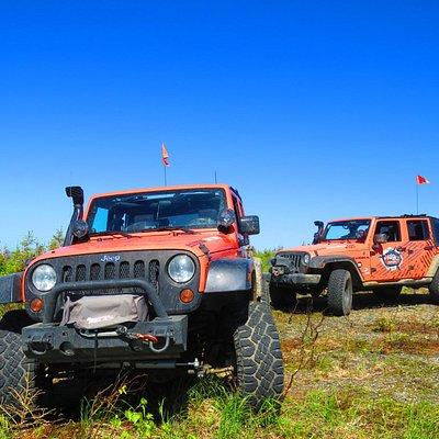 Nos 2 Jeeps!!