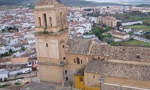 Iglesia de Danta María vista desde el Castillo