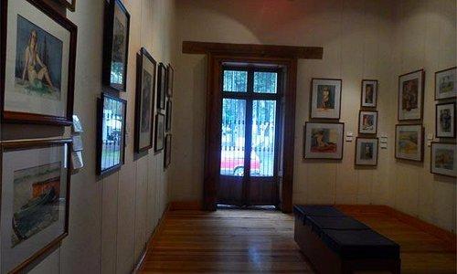 foto tomada del sitio del gobierno municipal, describe el interior del museo