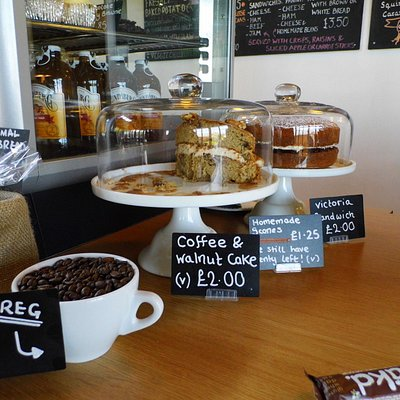 Africafe, the Fife Zoo coffee shop, filled with delicious healthy snacks & light meals.
