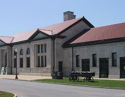 The historic L&N Depot was built in 1925.
