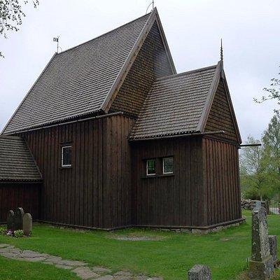 Hedareds Stavkyrka exterior