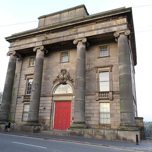 The landmark building that is Birmingham's Curzon Street Station 916/May/16).