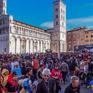 Lucca invasa da cosplayer provenienti da tutta Italia