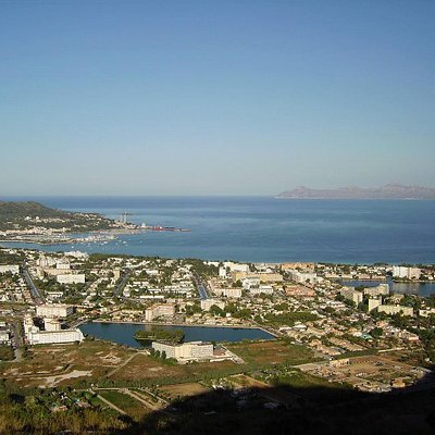 Vista de la Bahia de Alcudia