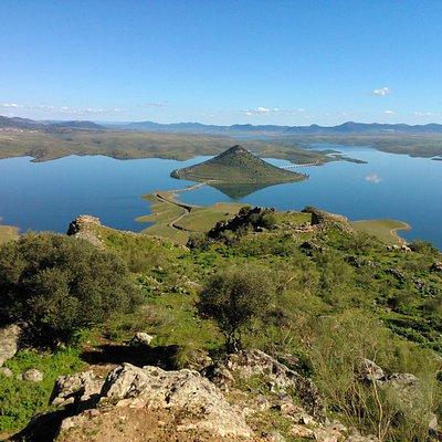 Cerro Masatrigo visto desde la Sierra de Lares.
