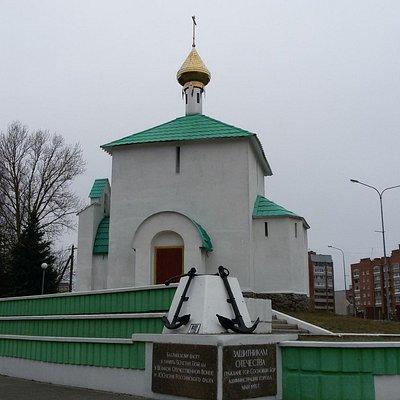 Церковь Николая Чудотворца в Сосновом Бору