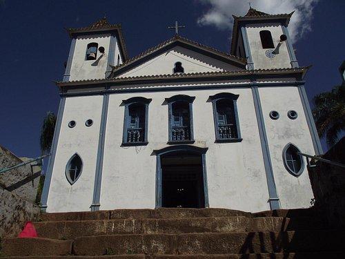 A frente da Igreja, Matriz Nsa Sra de Paraopeba