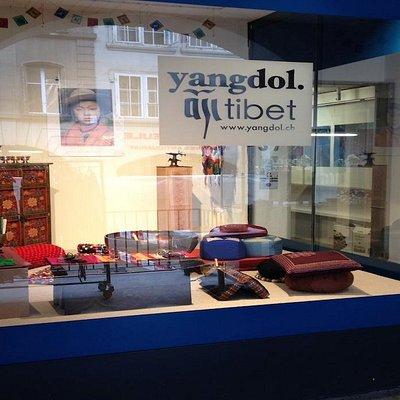 beautiful new tibetan boutique in Bern