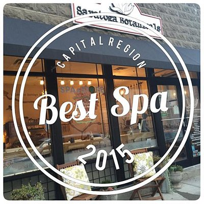 Voted Best Spa 2015-2016 by Capital Region Living Magazine