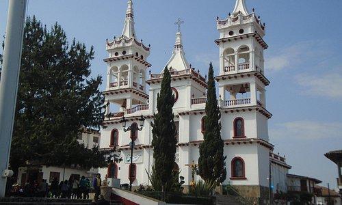 Arquitectura original de la parroquia de San Cristóbal.