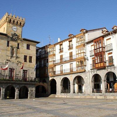 Plaza Del Ayuntamiento in Castro Urdiales