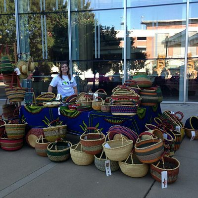 African Market Baskets available at the City Market!