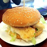 Grilled Fish Burger (AUD9.90)
