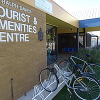 Free cycle hire at the Tourist And Amenities Centre