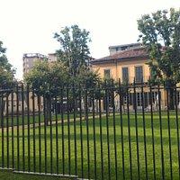 Villa Campari view from the park