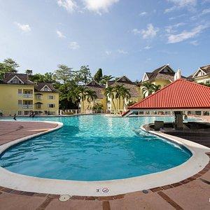 The Pool at the Mystic Ridge Resort