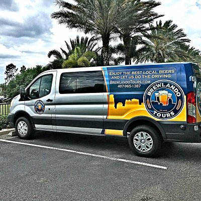 Brewlando Tours Van