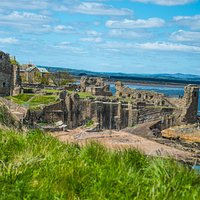 the St Andrews Castle ruin