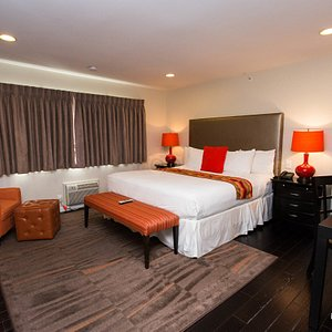 The Standard King Room at the Shelter Hotels Los Angeles