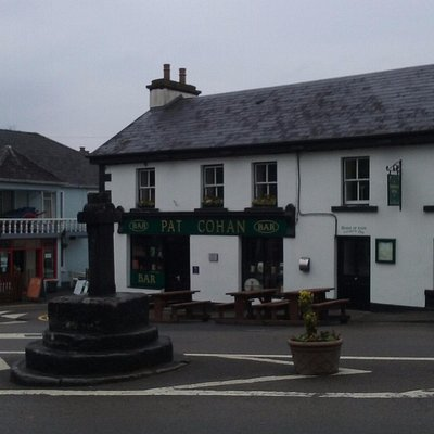 Danaher's is to the left of Pat Cohan's and in front of the 13th century monument. Perfect locat