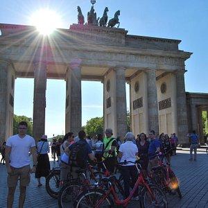 Een stukje geschiedenis onder de Brandenburger Tor