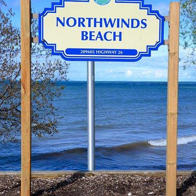 Northwinds Beach Sign