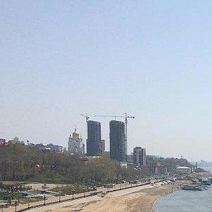 Вид на пляж с Утеса