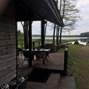 Cabin at lakeside