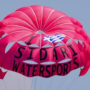 Paragliding at Sidari Watersports Corfu Fun for all the Family