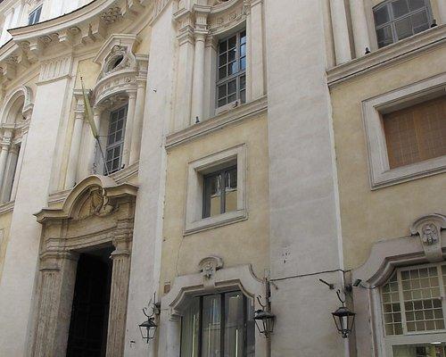 Palazzo Propaganda Fide - Borromini facade