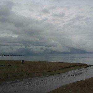 Nice peaceful beach.