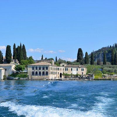 Boat tour on lake Garda - Punta San Vigilio