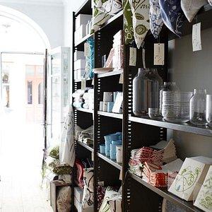 In the shop / photo: Karin Björkquist