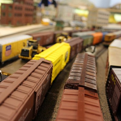 Lot of trains and setups