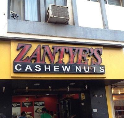 The original Zantye's for quality cashew nuts near Samrat Theatre