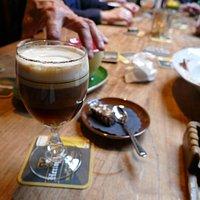 Te zoete Irish coffee........
