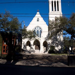 Christ Church Cathedral on the Street Car line